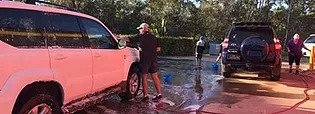 Car wash & sausage sizzle